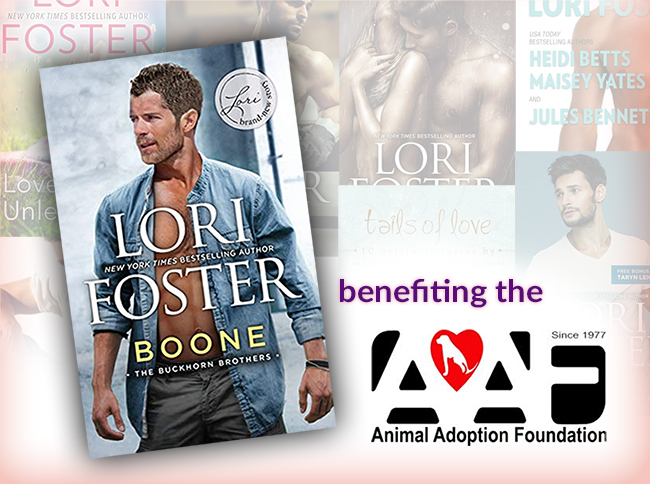 Boone: benefiting the Animal Adoption Foundation