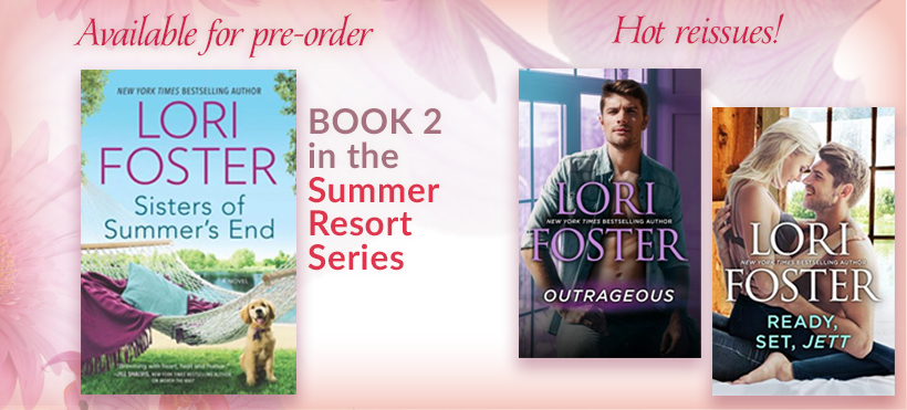 Upcoming from Lori Foster